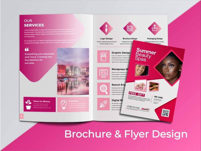 Brochure Design Website and Graphic Design Agency in South Africa