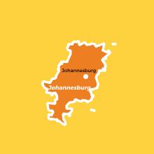 Gauteng Regions Johannesburg