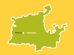 Gauteng Regions Tshwane