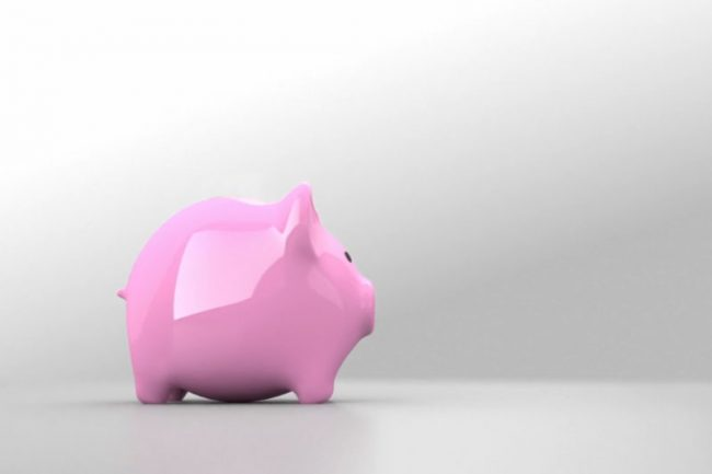 Save Money Pink Piggy Bank